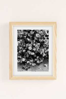 Debbie Carlos Black And White Flowers Art Print - Urban Outfitters