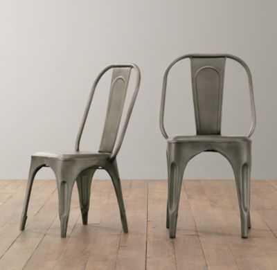 vintage steel play chair set of 2 - RH Baby & Child