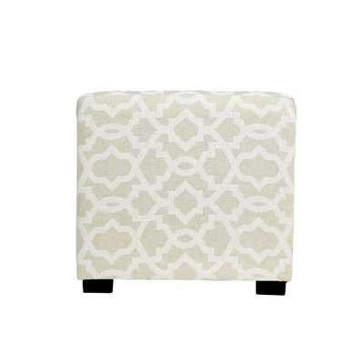 Sheffield 4 Button Tufted Ottoman - Wayfair