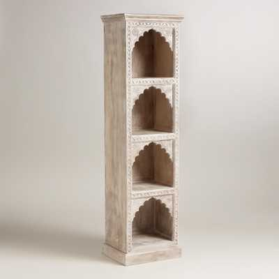 Hand-Carved Wood Bookshelf - World Market/Cost Plus