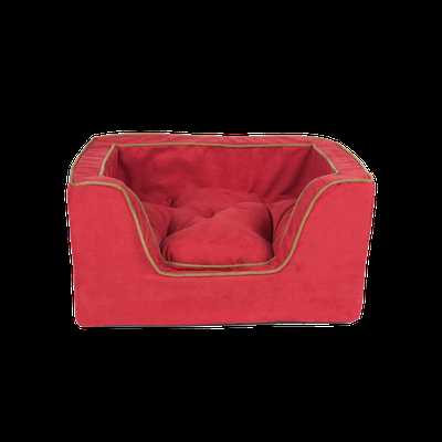 Luxury Square Dog Bed With Microsuede - Anthracite/Black - Snoozer