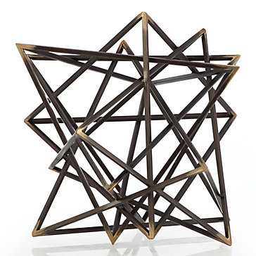 Intersecting Pyramids - Z Gallerie