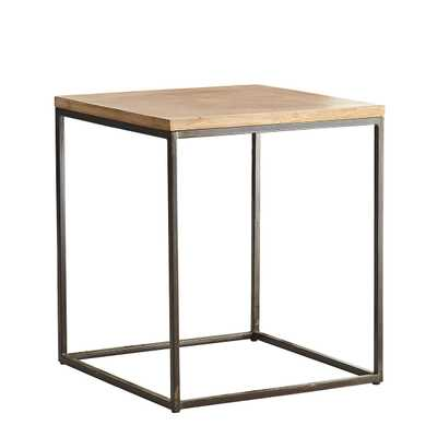 Parquet Side Table - Wisteria