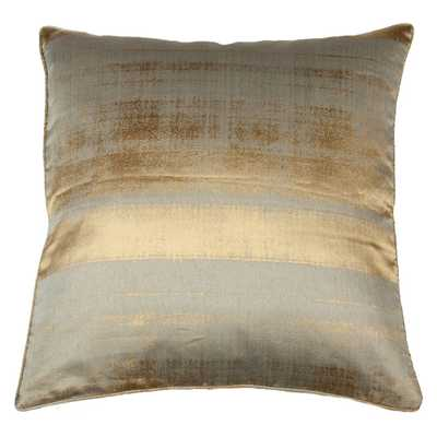 "Falling Water Pillow-  22"" x 22""- Insert Sold Separately - Candelabra"