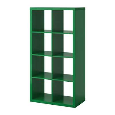 KALLAX Shelving unit, green - Ikea