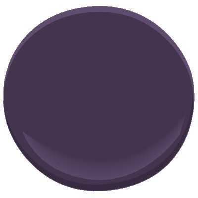 Benjamin Moore ben - exotic purple - Benjamin Moore