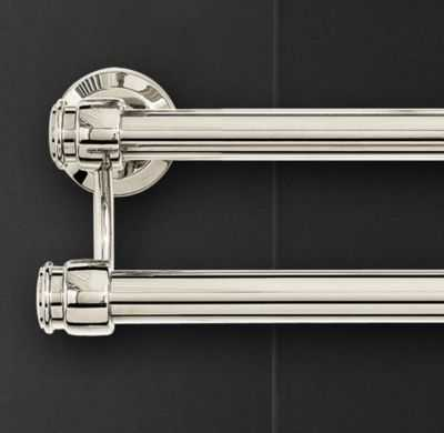 LUGARNO DOUBLE TOWEL BAR - RH