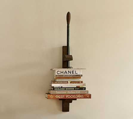 Book Press Shelf - Pottery Barn