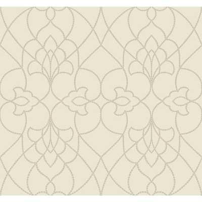 """Modern Luxe Dotted Pirouette 27' x 27"""" Abstract Wallpaper - Wayfair"""