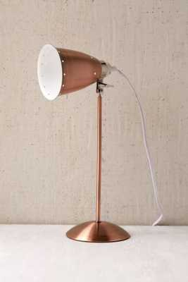 Kafe Task Lamp - Copper - Urban Outfitters