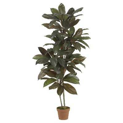 Nearly Natural 5' Cordyline Silk Plant - Target