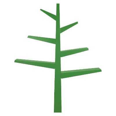 Babyletto Spruce Tree Bookcase - Houzz