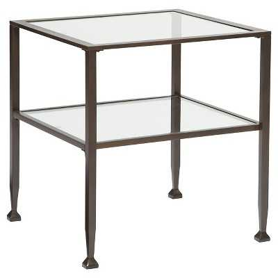 Tivion Rectangular End Table - Black - Signature Design by Ashley - Target