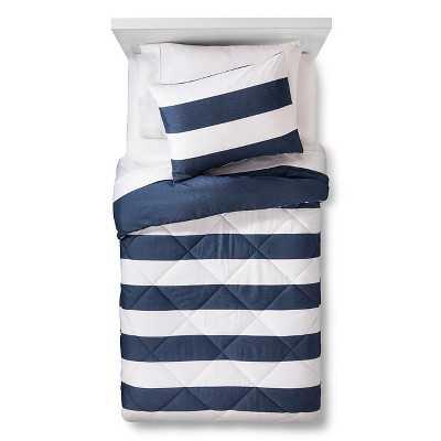"Rugby Stripe Comforter Set - Pillowfortâ""¢ - Target"