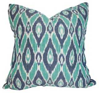 Jess Cotton Pillow - 20x20 - With Insert - One Kings Lane