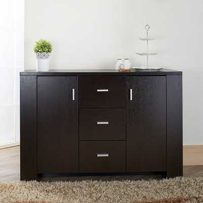 Furniture of America Clayton Cappuccino-finish Dining Buffet - Overstock