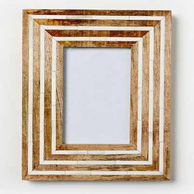 "Wood + Bone Frames - 5"" x 7"" - West Elm"