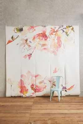 Rosella Mural - Pink - Anthropologie