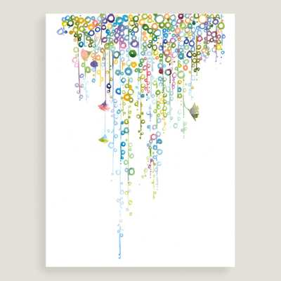 "String of Pearls Color by Catherine Parr - 30""W x 40""H - Unframed - World Market/Cost Plus"