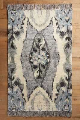 Stretched Ikat Rug-5' X 8' - Anthropologie