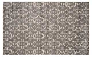 9'x12' Claus Outdoor Rug, Gray - One Kings Lane