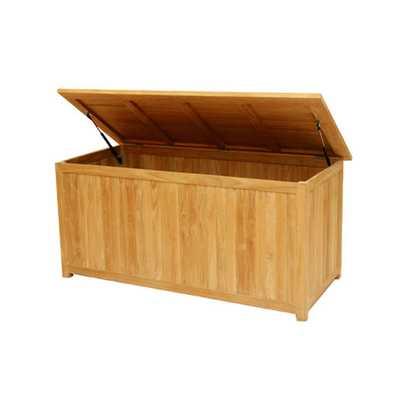 Essential Teak Deck Box - AllModern