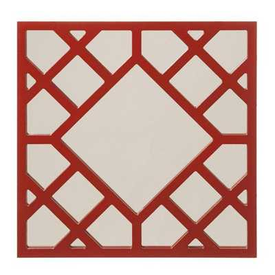 Anakin Red Skywalker Square Mirror - Overstock