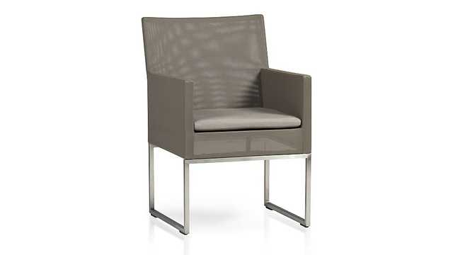 Dune Dining Chair with Cushion - Crate and Barrel
