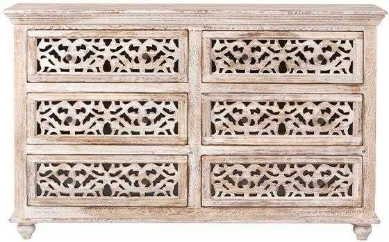 MAHARAJA DRESSER - Sandblast White - Home Decorators