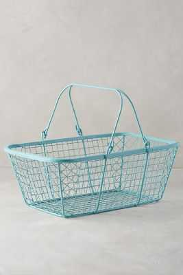Fitler Market Basket - Anthropologie