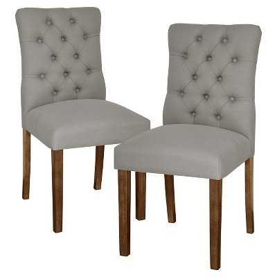 Brookline Tufted Dining Chair - Set of 2 - Target