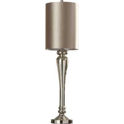 "Miyoshi 40"" H Table Lamp with Drum Shade - Wayfair"