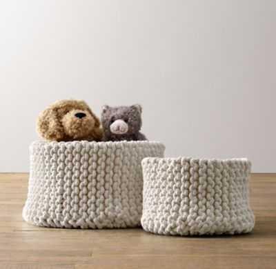 Knit cotton storage - large - RH Baby & Child