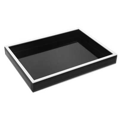 Wood/Glass Tray - AllModern