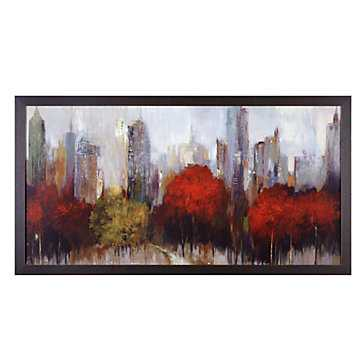 Downtown - 63x33 - Framed - Z Gallerie