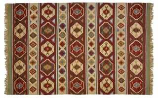 Elena Kilim Rug - One Kings Lane