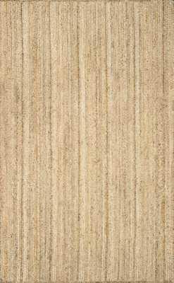 Hand Woven Rigo Jute rug - 6' X 9' - Loom 23