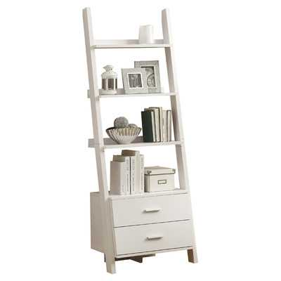 Ladder 69'' Leaning Bookcase - Wayfair