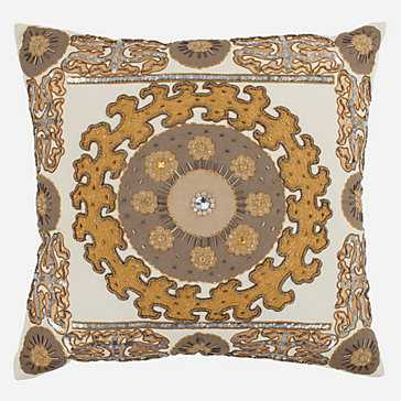 "Parades Pillow 24"" square-Insert includedc - Z Gallerie"