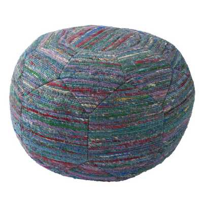 National Geographic Solid Rayon and Polyester Pouf Ottoma - AllModern