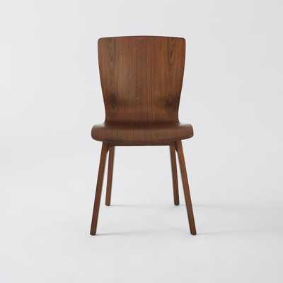 Crest Bentwood Chair, Set of 2, Walnut - West Elm