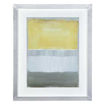 Half Light 1 - 26.5''W x 32.5''H - Framed with mat - Z Gallerie