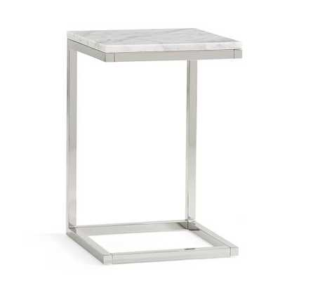 Bryn Marble-Top C Table - Pottery Barn