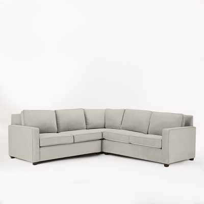 PEARCE UPHOLSTERED 2-PIECE L-SHAPE SECTIONAL - West Elm