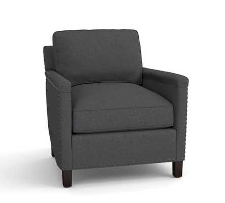 TYLER UPHOLSTERED ARMCHAIR - Pottery Barn