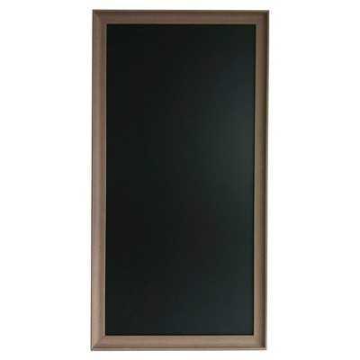 """Framed Chalkboard 50""""x25"""" - Target"""