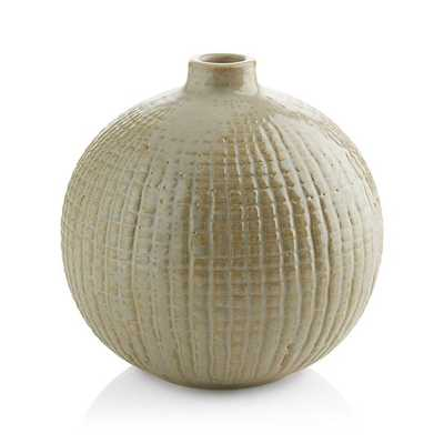 Hagen Round Vase - Crate and Barrel