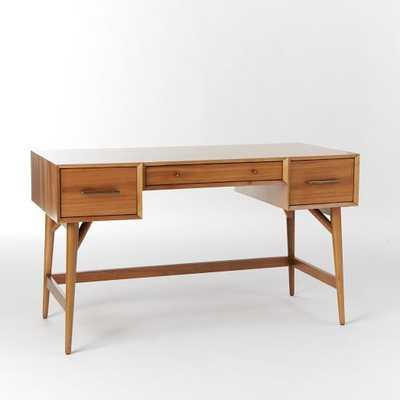 Mid Century Desk, Acorn Legs - West Elm