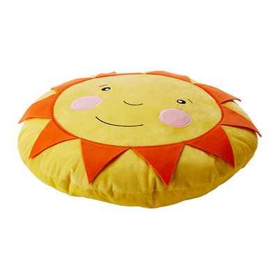 SOLIGT Cushion, yellow - Ikea