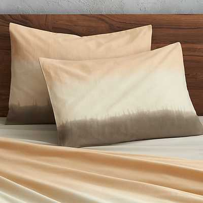 set of two ombre standard shams - CB2